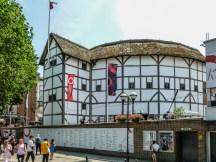 Shakespeare's Globe Theatre londyn