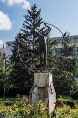 Plac Wyzwolenia rzeźba sarajewo