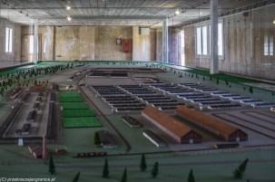 Stutthof - makieta obozu