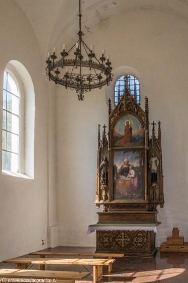 frombork - braniewo bazylika św katarzyny wnętrze