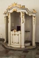 warmia - bisztynek kościół św. Macieja i Przenajświętszej Krwi Pana Jezusa konfesjonał