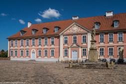 warmia - lidzbark warmiński zamek biskupów budynek