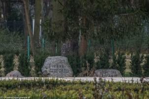 Mazowsze - Park, kamienie z datami tras koncertowych