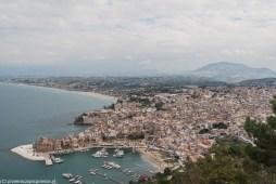 monreale - Castellammare del Golfo widok na miasto