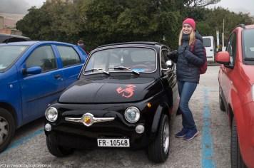 monreale - erice mały samochód ze skorpionem