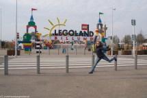 Brama wejściowa do Legolandu w Billund