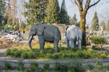 słonie z lego w legolandzie