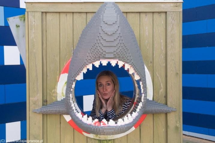 Legoland - Renia pożarta przez rekina