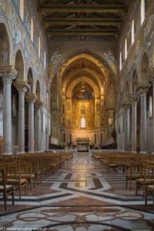 Monreale - Katedra, nawa główna