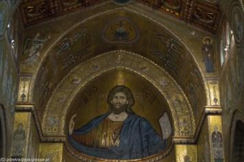 Monreale - Katedra, Chrystus Pantokrator