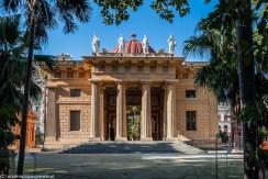 Palermo - architektura Ogrodu Botanicznego
