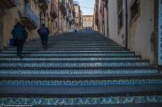 caltagirone - schody uliczne wyłożone ceramiką