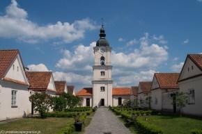 architektura wieża budynki wigry klasztor