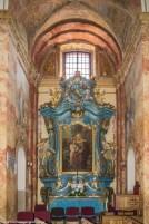 ołtarz kościół zdobienia architektura wigry