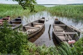 jezioro łódki natura woda