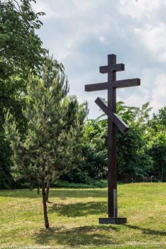 krzyż prawosławny cmentarz suwałki