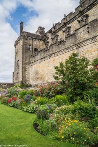 zamek ogród architektura