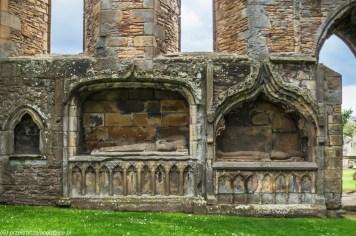 Katedra w Elgin - wnętrza
