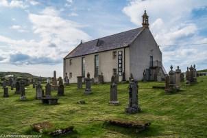 Muzeum na cmentarzu - północ North Coast 500