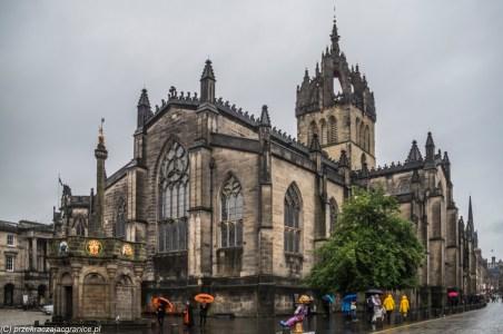 Katedra św. Idziego - Edynburg w jeden dzień
