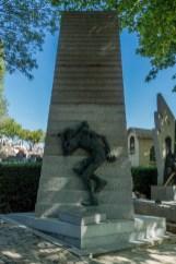 Pomnik - Pere Lachaise