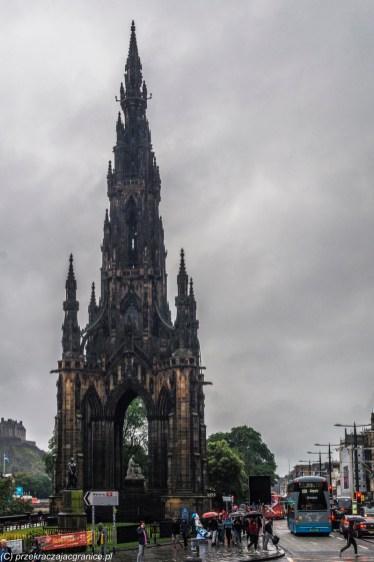 Monument Scotta - Edynburg