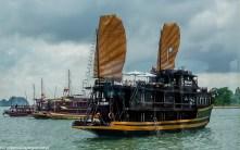 północny wietnam - statek ha long bay