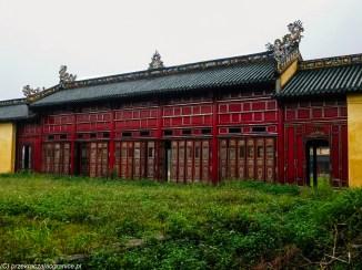 środkowy wietnam - hue architektura opuszczony budynek