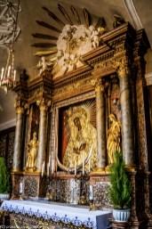Ostra Brama - ołtarz