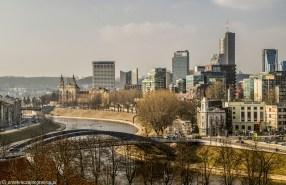 Panorama miasta - jeden dzień w Wilnie