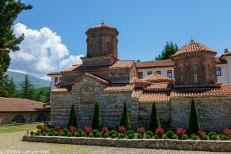 ochryda na weekend - klasztor sw nauma widok