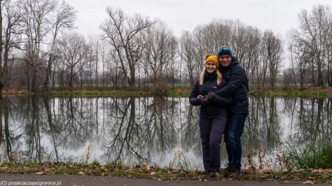 podsumowanie grudnia - jezioro wilanowskie warszawa para