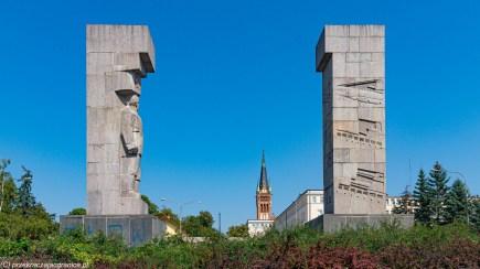 weekend w Olsztynie - pomniki