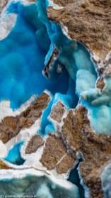 atrakcje karpacza - muzeum mineralogiczne szklarska poręba niebieski minerał