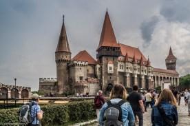 zamek w hunedoarze - rumunia