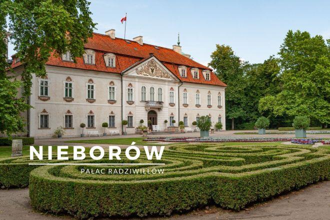pałac w nieborowie - pałac radziwiłłów