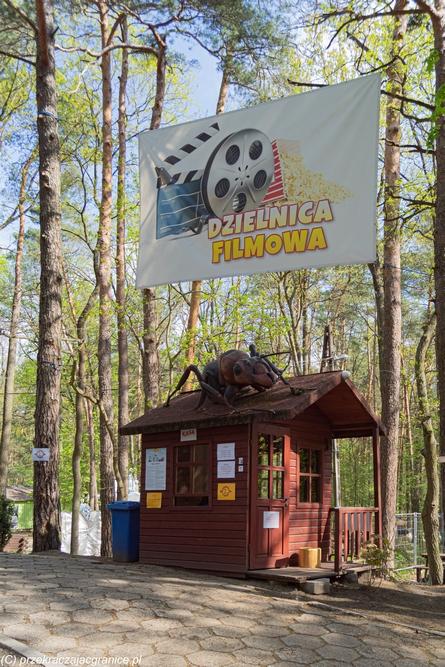 Dzielnica Filmowa - spacer pod Warszawą