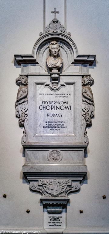 Kościół św. Krzyża - serce Chopina
