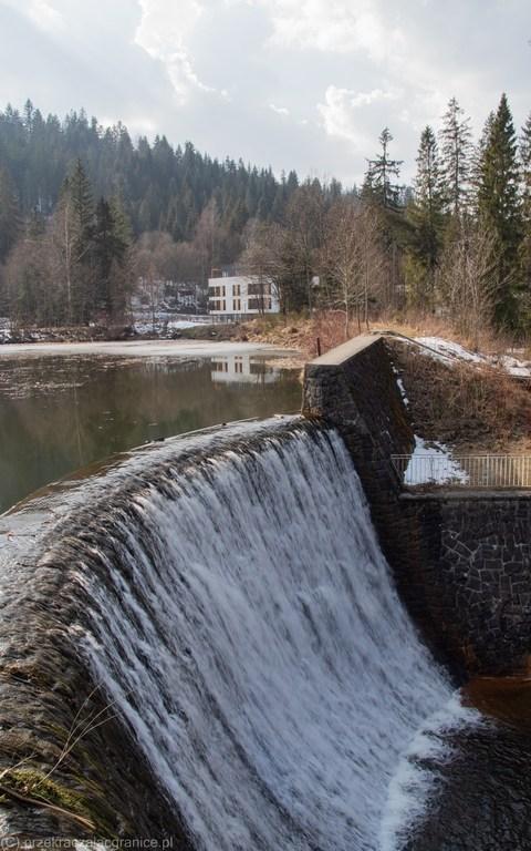 Mała Zapora - wodospad - Wisła
