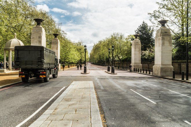 Londyn - Memorial Gates