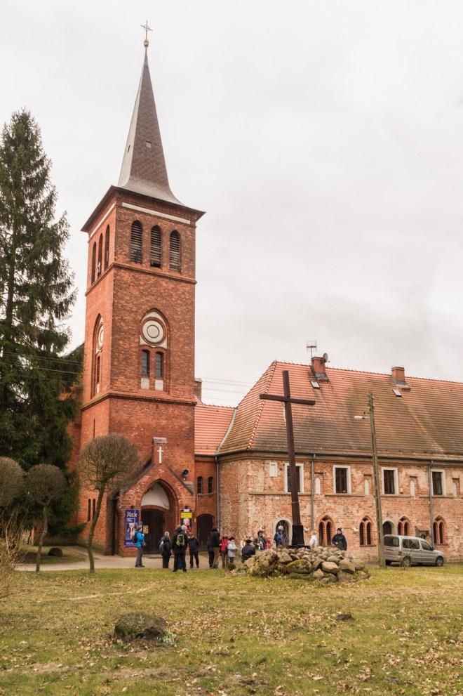 Okolice Szczecina - Kościół w Marianowie