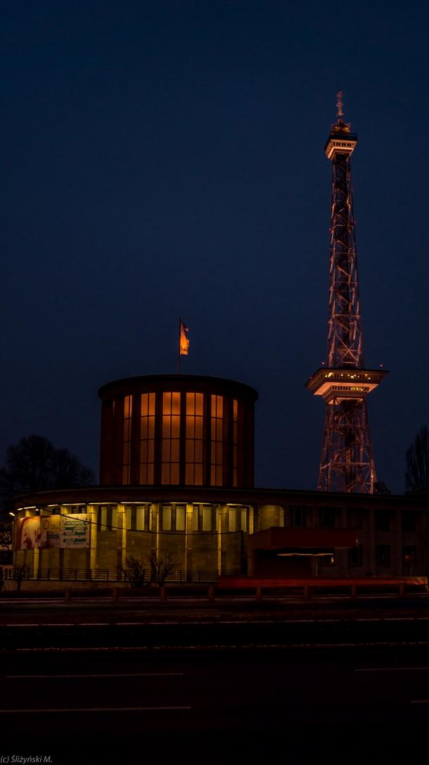 Wieża radiowo-telewizyjna w Berlinie