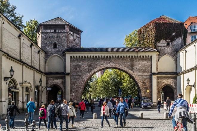 bramy miejskie - atrakcje Monachium