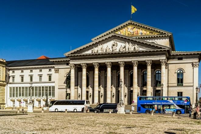 Teatr Narodowy - atrakcje Monachium