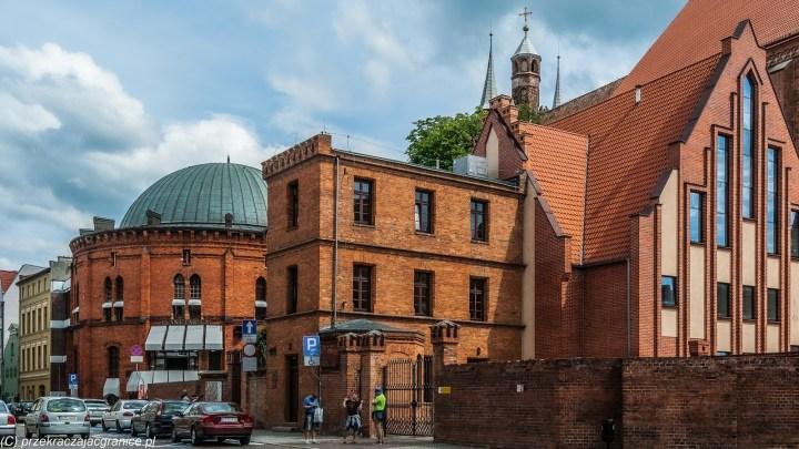 weekend w Toruniu - planetarium