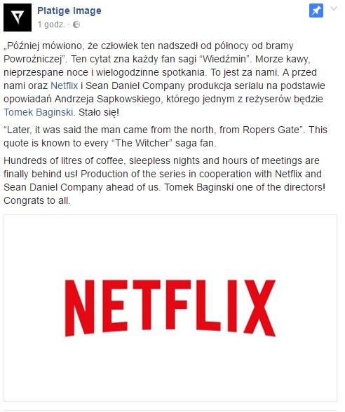 Netflix - Wiedźmin