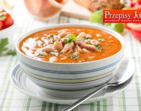 rozgrzewajaca zupa fasolowa