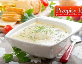 zupa jarzynowa z oscypkiem