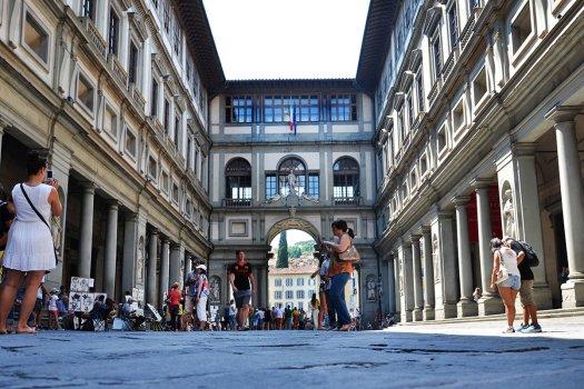 Uffizi Muzeum Florencja