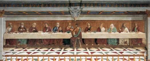 Cenacolo Passignano Ghirlandaio